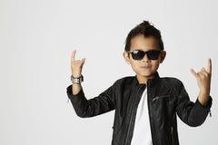 Kühler junger Rocker Stockbilder