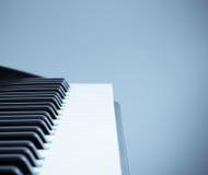 Kühler Ton der Tastatur Stockfotografie