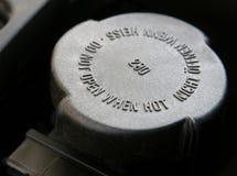 Kühlerschutzkappe Stockfotos