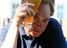 Kühles Bier Stockbild