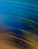 Kühles blaues Bewegungszittern Stockbilder