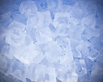 Kühles Eis für Hintergrund Lizenzfreies Stockbild