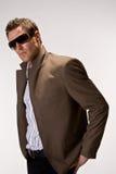 Kühles großes Stück mit Sonnenbrillen Lizenzfreies Stockfoto