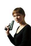 Kühles Mädchen Lizenzfreie Stockfotos
