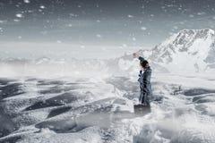 Kühles Wetter ist nicht der Grund Lizenzfreie Stockfotos