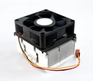 Kühlkörperkühlvorrichtungsfan Lizenzfreie Stockfotografie
