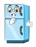 Kühlschrankkarikatur Stockfoto