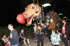 Künste im Park-Mardi Gras-Ereignis in Hong Kong 2014 Stockfotografie