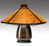 Künste und Fertigkeit-Glimmer schattieren Tabellen-Lampe Stockfoto