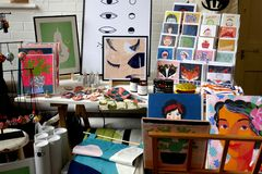Künste und Handwerk lizenzfreies stockfoto