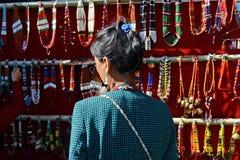 Künste und Handwerk von Nagaland Stockbilder