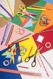 Künste und Handwerksversorgungen Lizenzfreies Stockbild