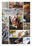 Künste und Künstler Lizenzfreies Stockbild