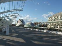 Künste und Wissenschafts-Stadt Stockbild