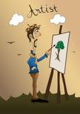 Künstler lizenzfreie abbildung