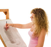 Künstler Lizenzfreies Stockfoto