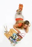 Künstler in der Liebe Lizenzfreie Stockfotos