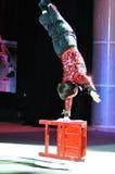 Künstler des chinesischen Zirkusses Lizenzfreies Stockfoto