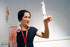Künstler Eugenia Veselova Stockfoto