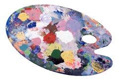 Künstler-Palette Lizenzfreies Stockfoto