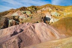 Künstler-Palette in Death Valley lizenzfreies stockfoto