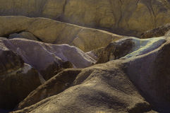 Künstler-Palette Death Valley Stockbild