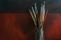 Künstler-Pinsel Stockbild