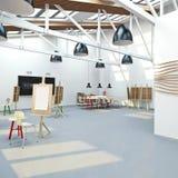 Künstler `s Werkstatt Stockfoto