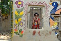 Künstler Village Of India Lizenzfreie Stockfotografie