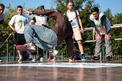 Künstlerbreakdance, Lizenzfreie Stockbilder