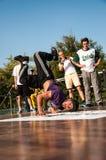 Künstlerbreakdance, Lizenzfreies Stockfoto