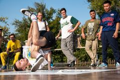 Künstlerbreakdance, Stockbilder