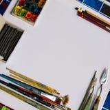 Künstlerfenster Lizenzfreies Stockfoto