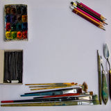 Künstlerfenster Lizenzfreies Stockbild