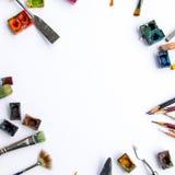 Künstlerfenster Lizenzfreie Stockbilder
