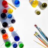 Künstlerfenster Lizenzfreie Stockfotos