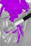 Künstlerische acryl Malerei Lizenzfreie Stockbilder