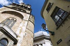 Künstlerische Ansicht des Domhof in Aachen/in Deutschland Lizenzfreies Stockfoto