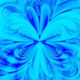 Künstlerische blaue Auslegung Lizenzfreie Stockfotografie