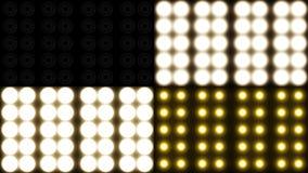 Künstlerische Flut-Lichter Lizenzfreie Stockfotografie