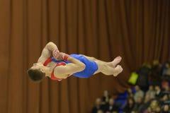 Künstlerische Gymnastik Stockfotos