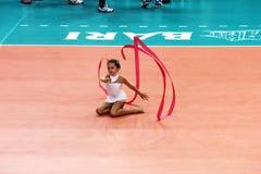 Künstlerische Gymnastik Lizenzfreie Stockfotos