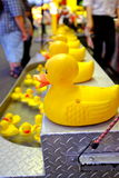 Künstlerische Karnevals-Spiel-Szene Lizenzfreie Stockfotos