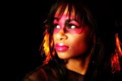 Künstlerische Kosmetik Stockbild