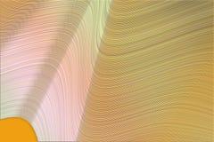 Künstlerische Linien u. Welle gemischte Hintergrundzusammenfassung Form, Zeichnung, Konzept u. Design stockfotografie