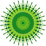 Künstlerische Mandala Lizenzfreies Stockbild
