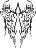 Künstlerische Maori- Maske Lizenzfreies Stockfoto