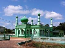 Künstlerische moslemische Moschee in Surinam Stockfoto