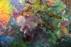 Künstlerische Palettenmesser Stockfotos