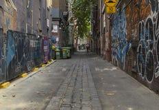 Künstlerische Schwingungen Melbournes stockbild